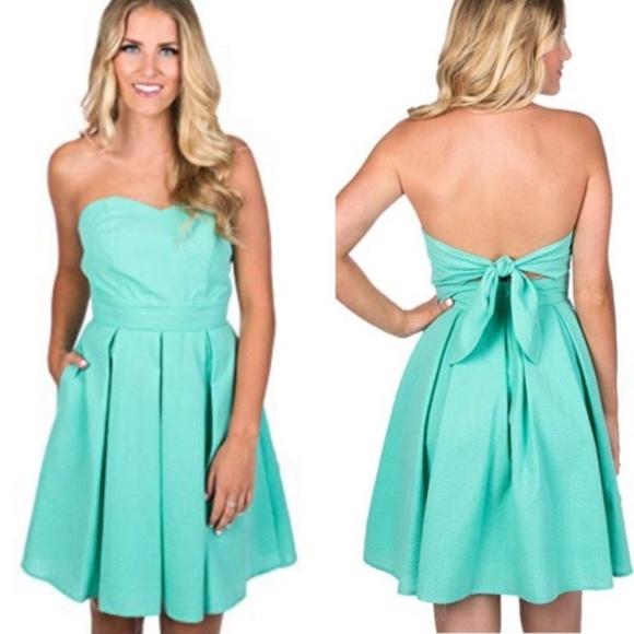 Lauren James Dresses & Skirts - {L} NWT Lauren James Seafoam Corbin Dress
